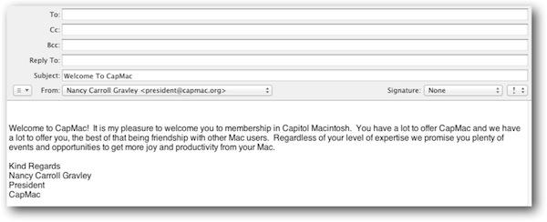 Create Email Templates | Beginners Mac Blog