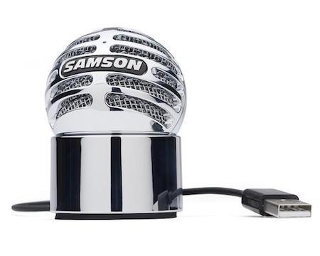 Samson's Meteorite Microphone